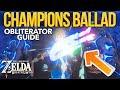 One Hit Obliterator Guide - Zelda Breath of the Wild Champions Ballad