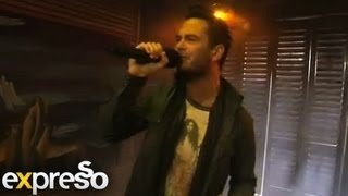 """Daniel Baron performs """"Crazy, Beautiful World """" live on Expresso"""