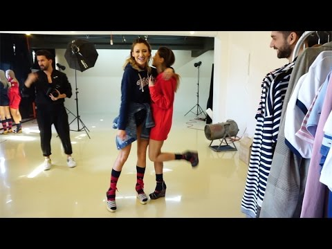 Shooting for Cosmopolitan Magazine May issue with Tommy Hilfiger