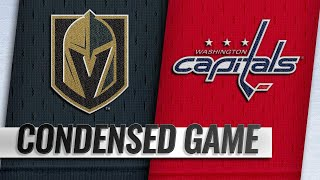 10/10/18 Condensed Game: Golden Knights @ Capitals