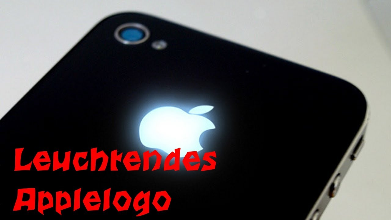 Leuchtendes Applelogo Am Iphone 4 S Youtube