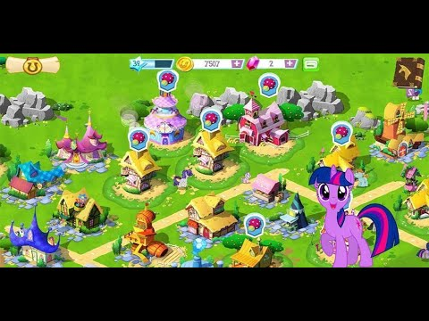 My Little Pony Friendship Is Magic ~ game play of my magical land ! |