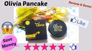 Olivia Pancake Review & Demo || Affordable Product || Perfect Makeup Base for Indian skin tone ||