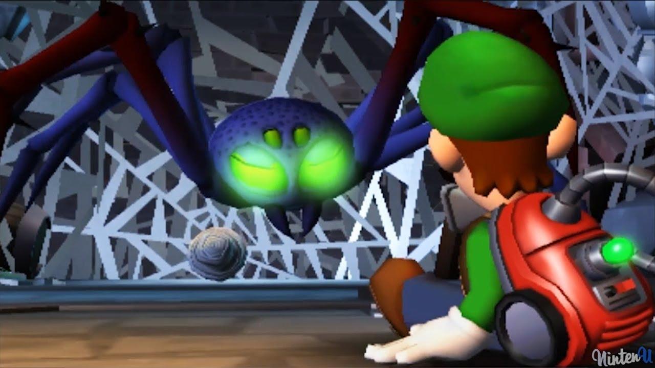 Luigi S Mansion Dark Moon Walkthrough Part 1 Gloomy Manor