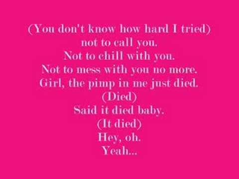 jholidaypimp in me lyrics