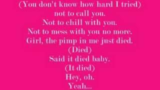 jholiday-pimp in me lyrics