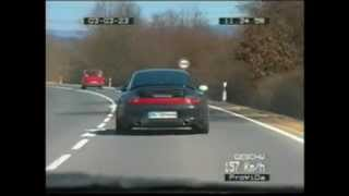 "Getaway in Bavaria ""Porsche 996 vs. German Police"""