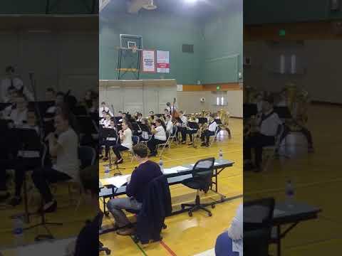 Chehalis middle school jr. High concert band 2019(1)