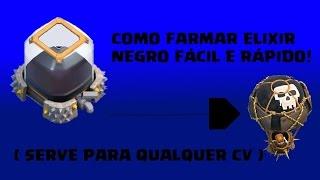 ESTRÁTEGIA DE FARM DE ELIXIR NEGRO! ( CV 7, CV 8, CV 9 E CV 10)