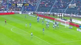 CRUZ AZUL VS LEON 2-0 Apertura 2015 J3
