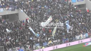 Tifo laziale in Sassuolo Lazio, Serie A 2015/16