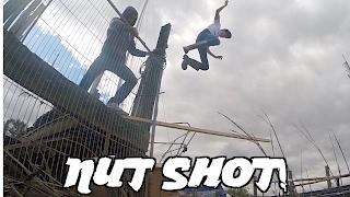 2x4 Nut Shot Into River Stunt W/ Nub Tv