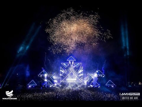 I AM HARDWELL - United We Are (The Final Show) | Closing set with Hardstyle 🔥🔥🔥 (25 minutes)