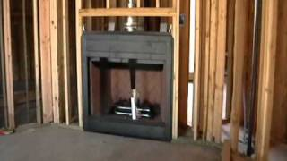 Building Process 29: Fireplace Installation