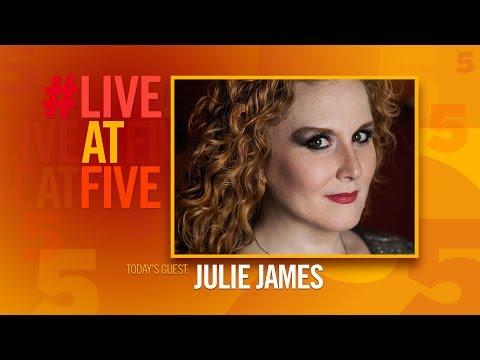 Broadway.com #LiveatFive With Julie James