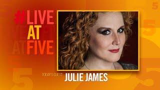 Broadway com LiveatFive with Julie James
