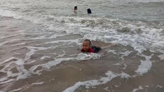 pantai sinar laut koba