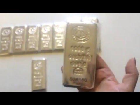1 kg Nadir Silver bar & 500 gram