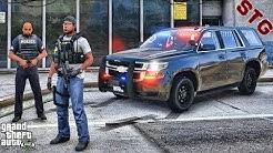 UNMARKED TAHOE| GANG UNIT PATROL!!!| #100 (GTA 5 REAL LIFE PC POLICE MOD)