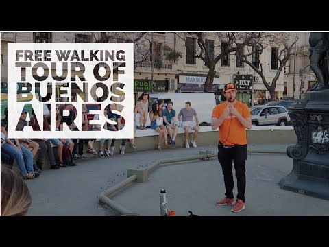 HISTORICAL BUENOS AIRES: FREE WALKING TOUR Of The CITY CENTER