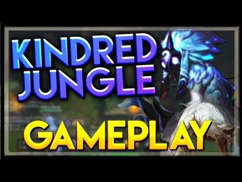 Kindred Gameplay Jungle - LoL Kindred Full Gameplay Jungle - League of Legends PBE