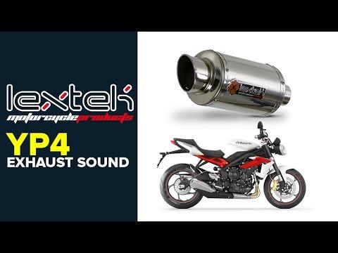 Lextek Stainless Exhaust System /& GP1 Stubby Silencer Yamaha YBR125 2005-16