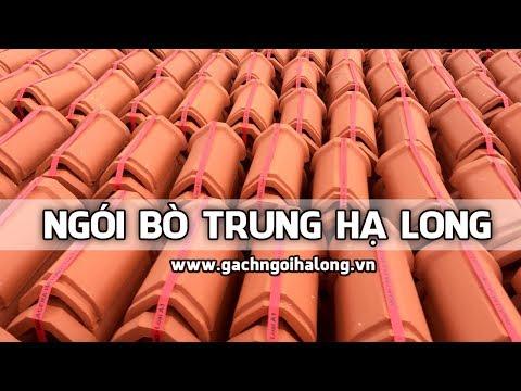 Ngói Bò Trung - Ngói Nóc Trung Viglacera Hạ Long   | Gạch Ngói Hạ Long | Www.gachngoihalong.vn