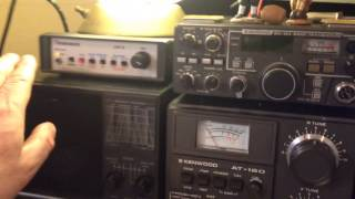 timewave dsp9 demo on 160 meters with bad noise