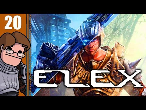 Let's Play ELEX Part 20 - Hermit Herbert Has Excellent Posture