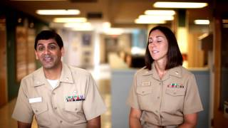 Navy Reserve Stories: Jen and Aaron