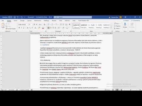 Download Kako napraviti sadržaj u Wordu