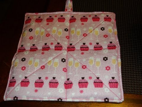 EASY How to Make a Hot Pad (Tutorial) hotpad pot holder