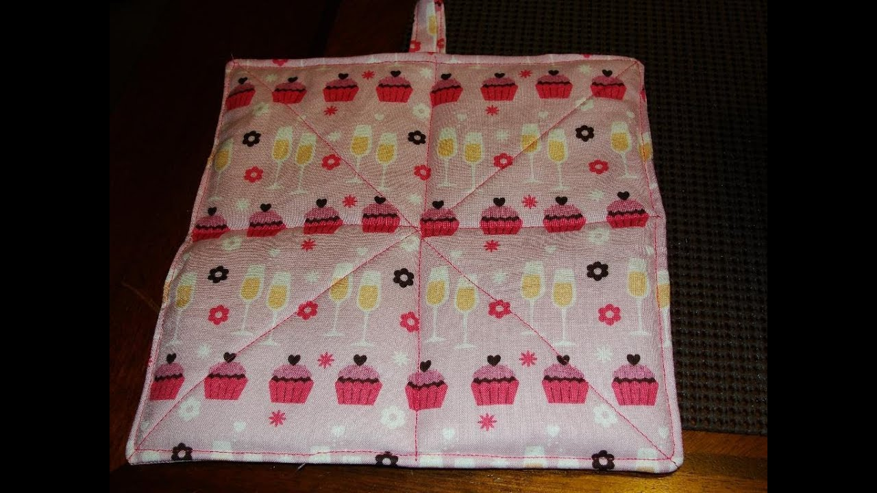 Easy How To Make A Hot Pad Tutorial Hotpad Pot Holder