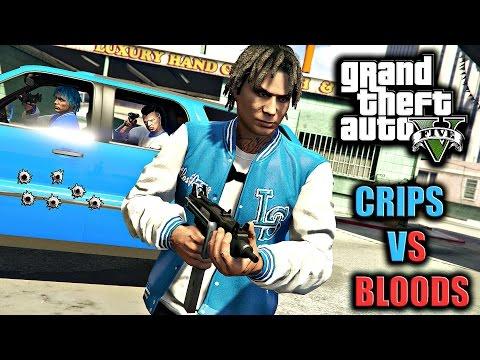GTA 5 | BLOODS VS CRIPS #13 [HD]
