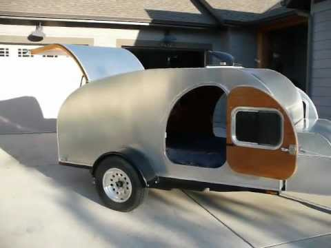 Teardrop Camper - DIY Teardrop Trailer Camper - You can build a Teardrop