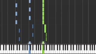 WILL.I.AM - FALL DOWN ft. MILEY CYRUS - Piano Cover ( Sheet Music + MIDI )