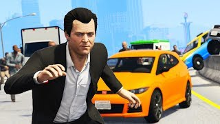GTA 5 - WANTED BY EVERYONE!! (Can I Survive?)