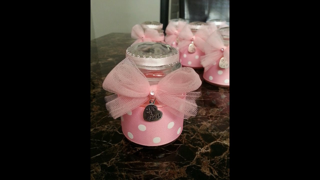 DIY Jar Candle Favors Tutorial for any occasion - - YouTube