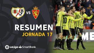 Resumen de Rayo Vallecano vs Real Zaragoza (0-1)