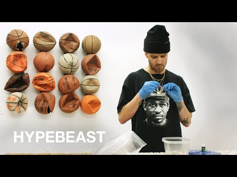 Artist Tyrrell Winston Turns Trash To Fine Art | HYPEBEAST IMPRESSIONS