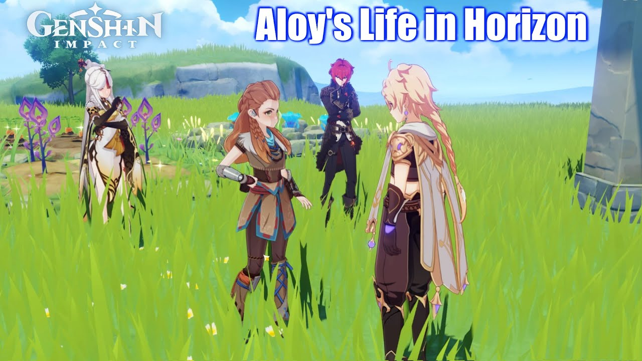 Aloy talks about her Life in Horizon - Genshin Impact