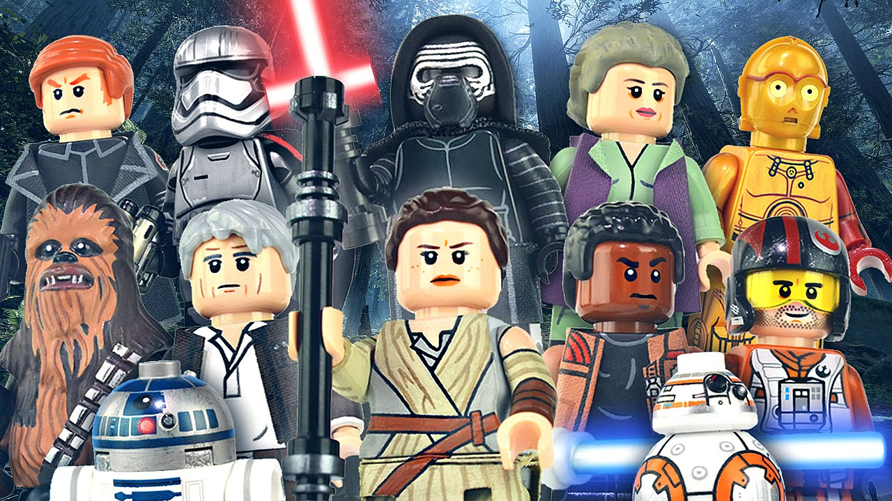 Lego Star Wars The Force Awakens Minifigures Showcase