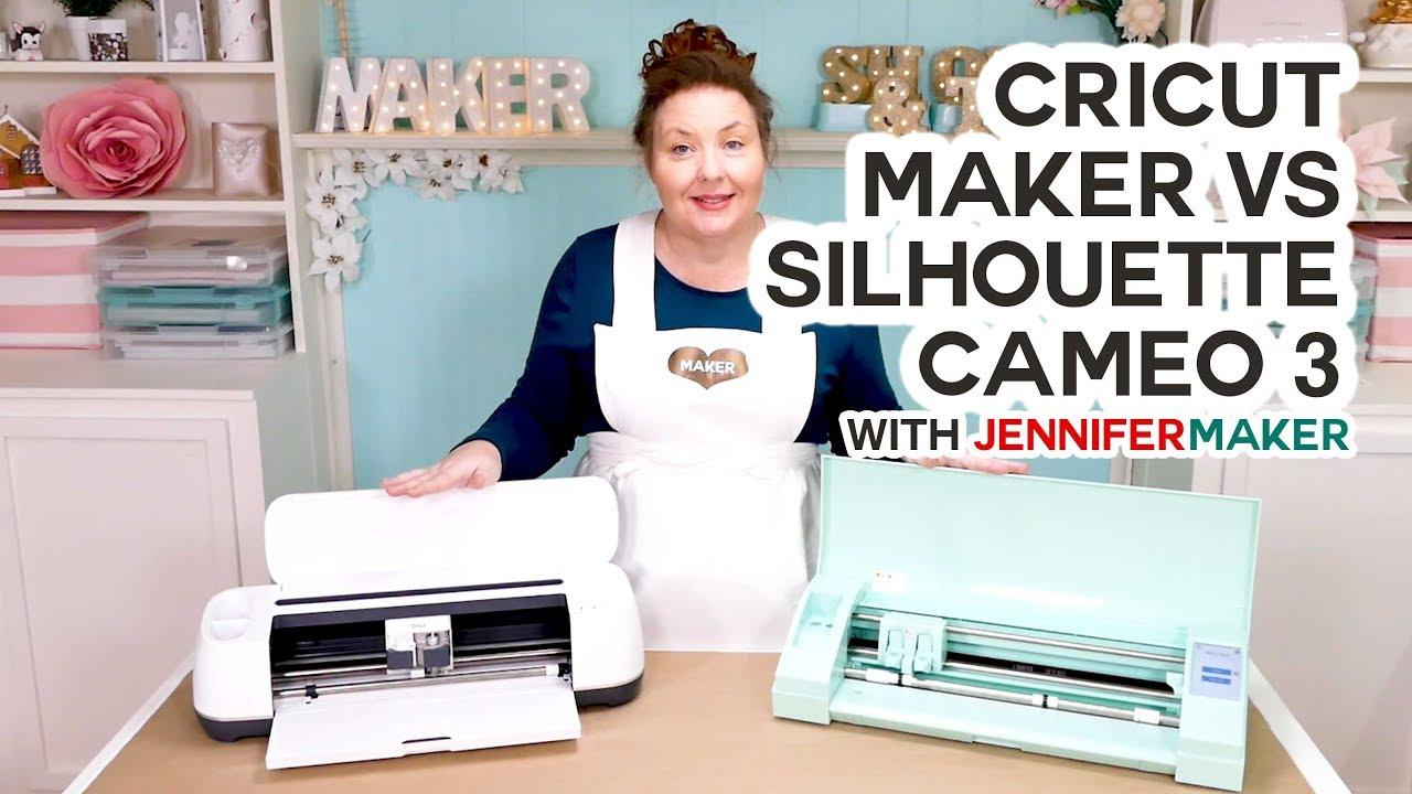 fbe42329 Cricut Maker vs. Silhouette Cameo: What's Different, What's Best? -  Jennifer Maker