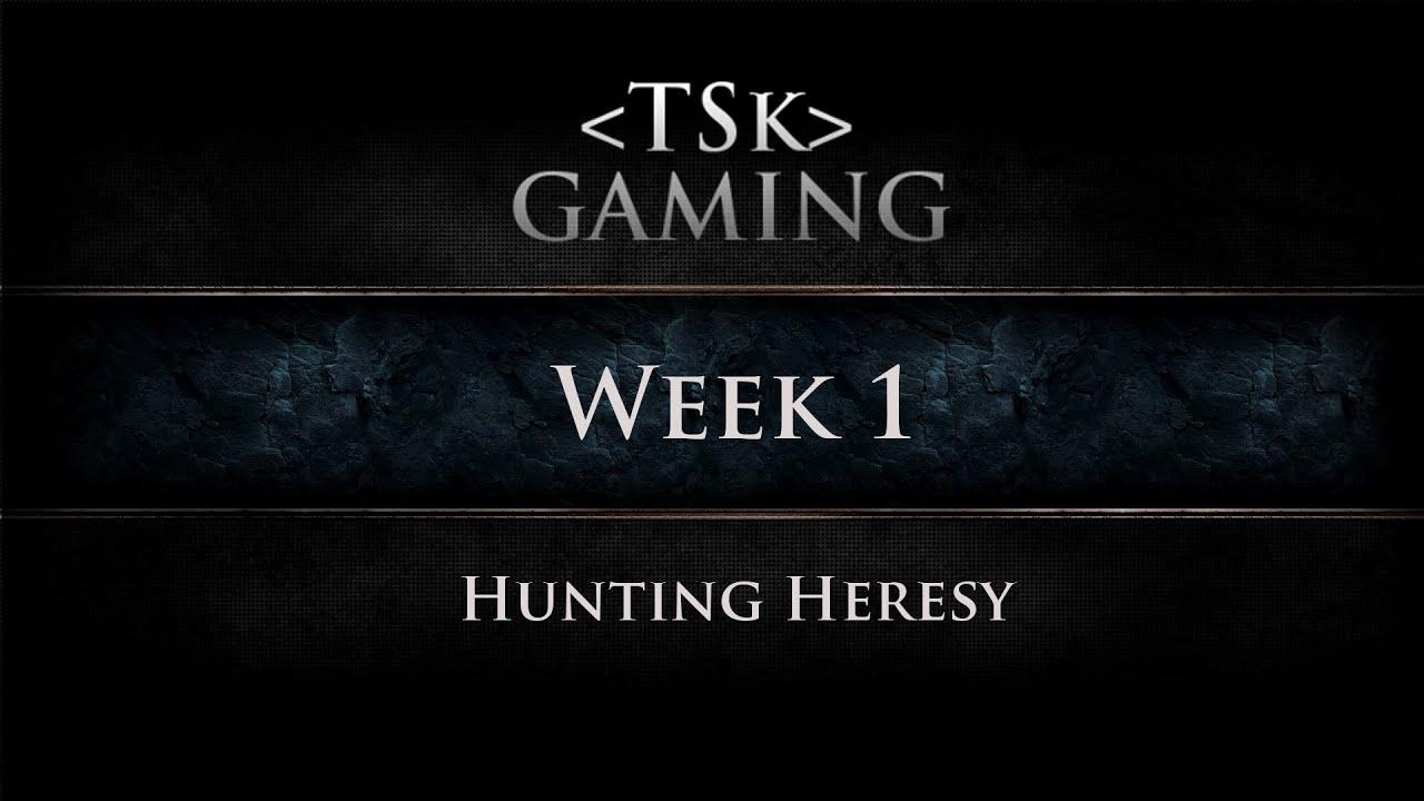 Dark Heresy 2e Roleplay Hunting Heresy Week 1