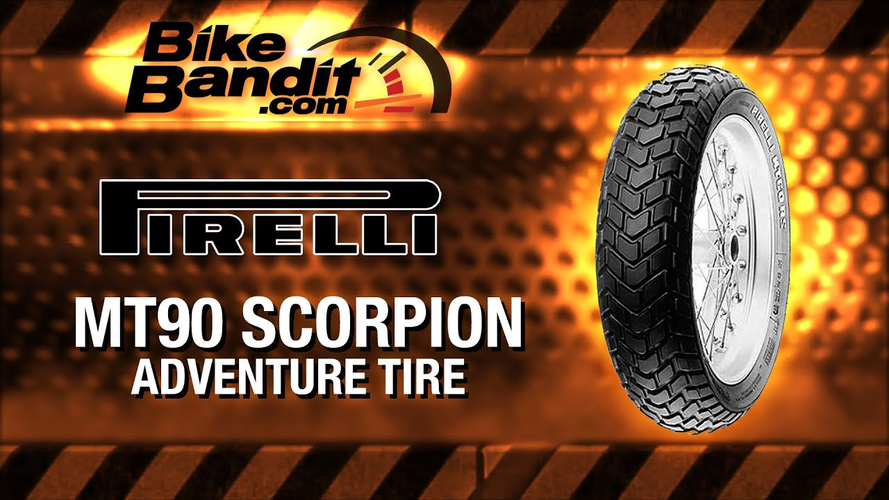 Pirelli Scorpion Mt90 A T Motorcycle Tire At Bikebandit Com Youtube