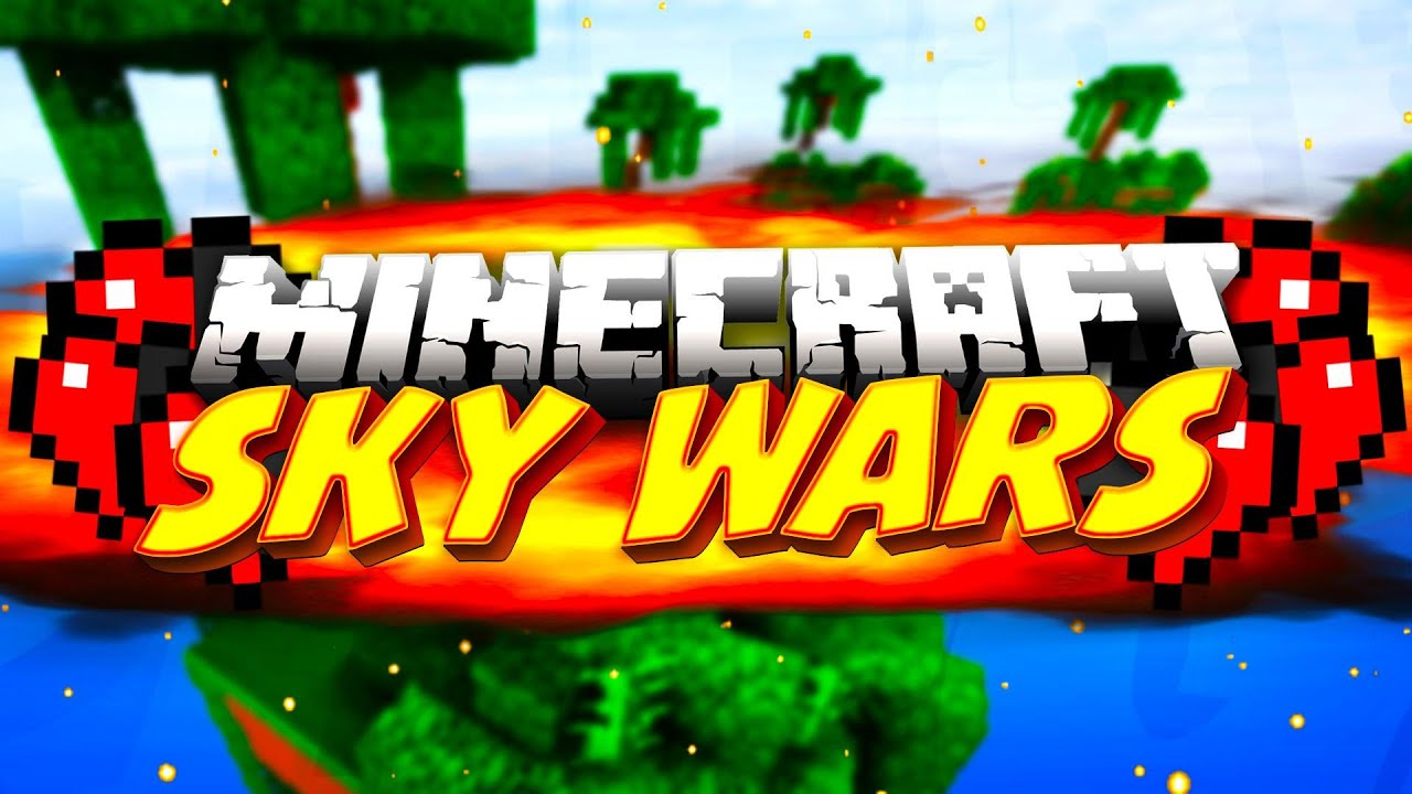 Minecraft SkyWars: HALF HEART CLUTCH?! (Minecraft Team Sky ...