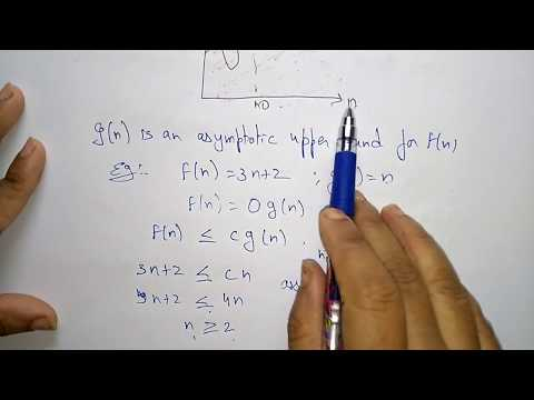 big o notation in algorithms  | asymptotic notation |