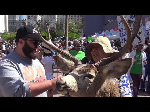 Protesters Blame Trump For Climate Change | FLECCAS TALKS