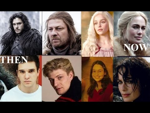 Game Of Thrones Cast. Before And After
