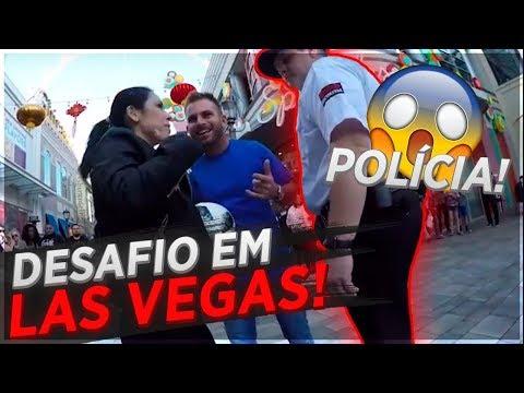 PORQUE A POLÍCIA DE LAS VEGAS QUASE ME PRENDEU!